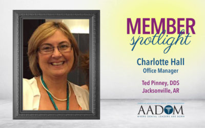 Learning About AADOM's May Featured Member