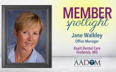 Introducing AADOM's August Spotlighted Member