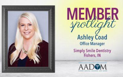 Meet AADOM's November Spotlighted Member