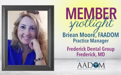 Meet the AADOM March Spotlighted Member