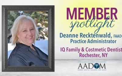 Let's Hear it for AADOM's May Spotlighted Member