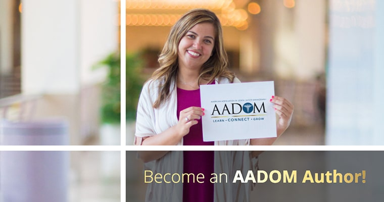 Become an AADOM author!
