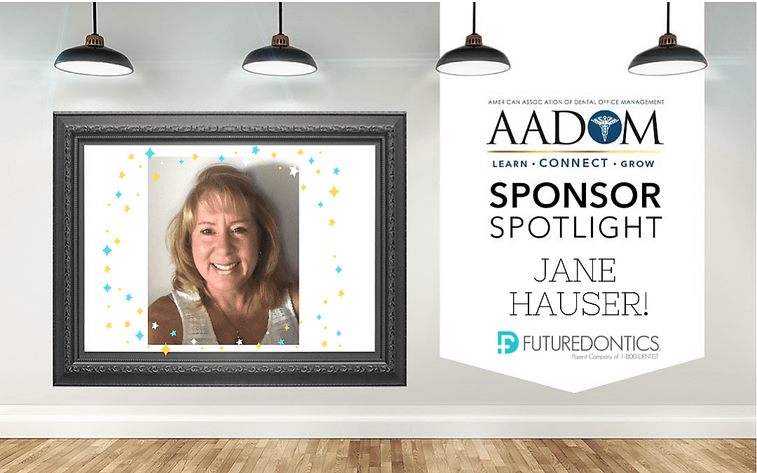 AADOM Sponsor Spotlight - Jane Hauser from Futuredontics
