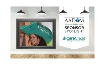 AADOM Sponsor in the Spotlight – CareCredit