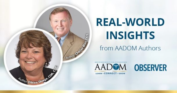 Real world insights from AADOM authors Charles Blair and Dilaine Gloege on medical coverage for trauma-related dental services