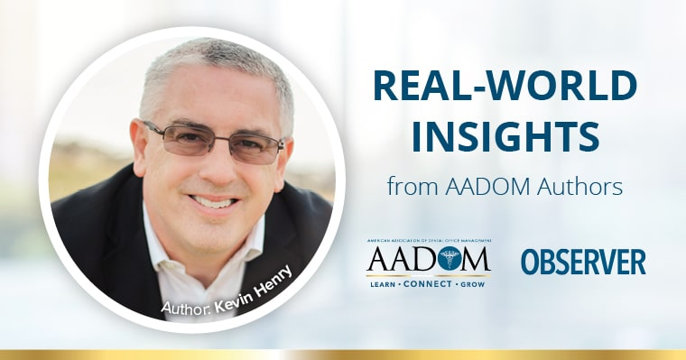 Real-World Insights from AADOM Authors - Kevin Henry
