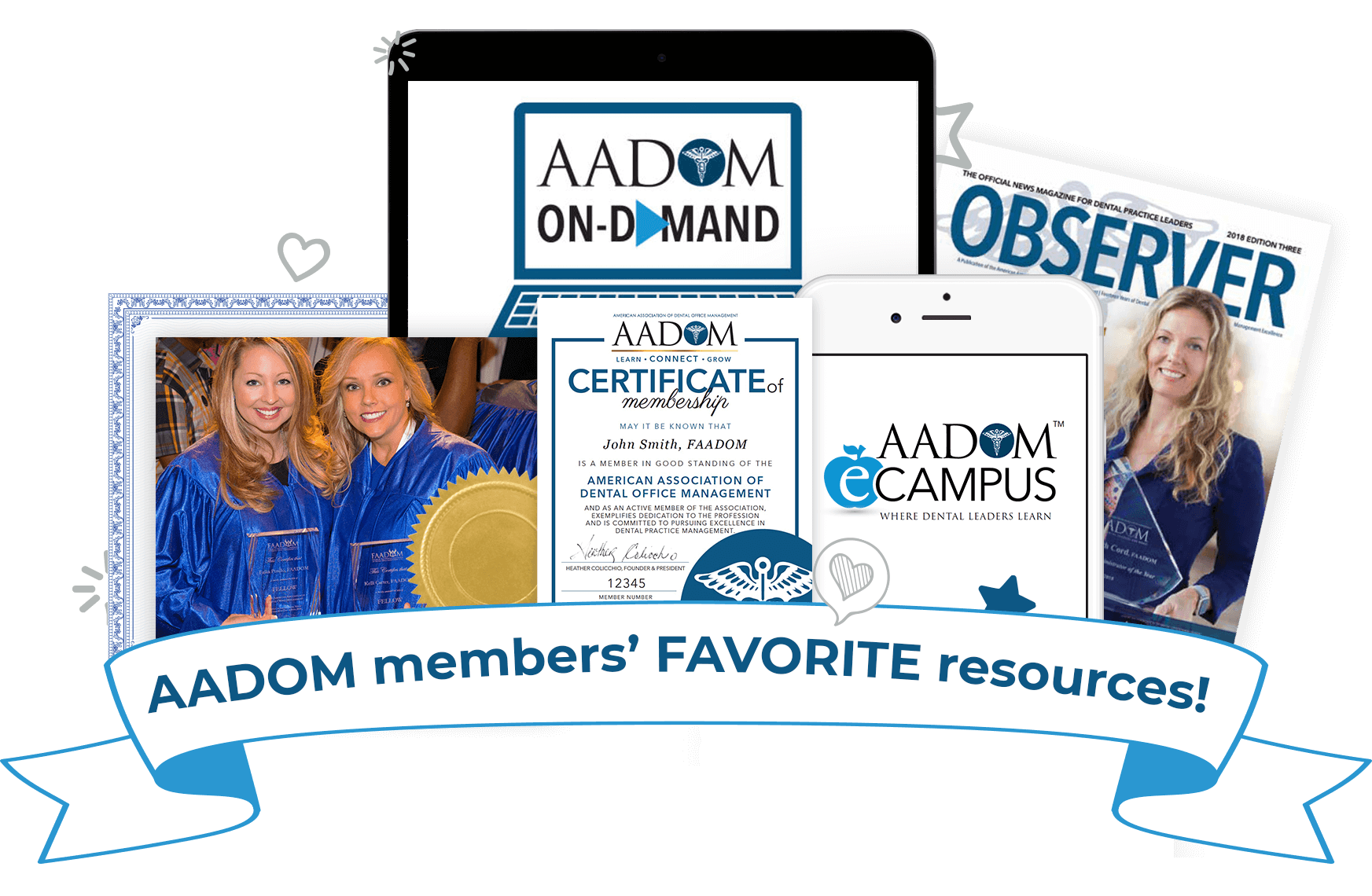 AADOM members' FAVORITE resources!