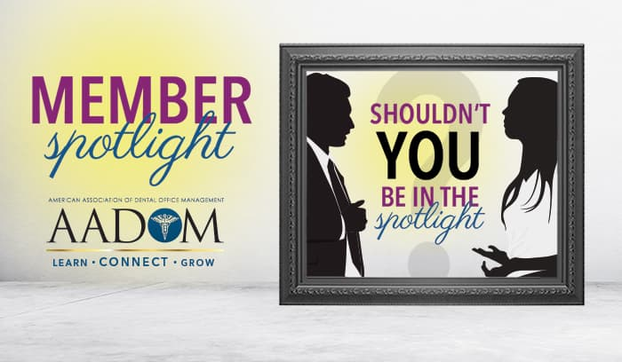 Member Spotlight: Shouldn't you be in the spotlight?