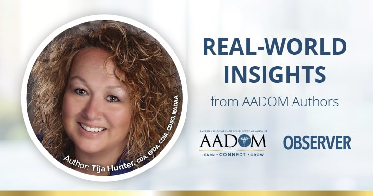 Real world insights from AADOM authors - Tija Hunter