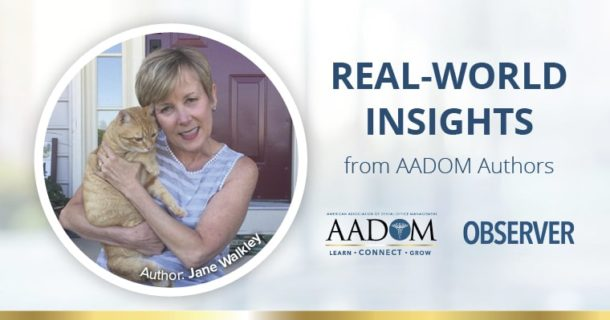 Real World Insights from AADOM Authors - Jane Walkley