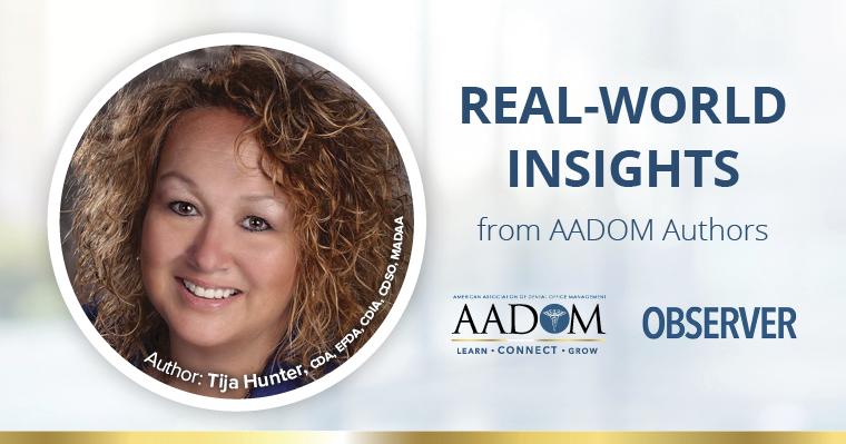 Real world insights from AADOM authors - Tija Hunter