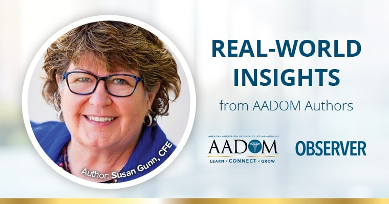 Real World Insights from AADOM Authors - Susan Gunn