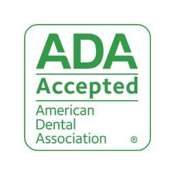 The ADA seal in green