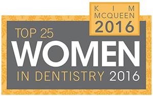 Top 25 Women in Dentistry 2016 - Kim McQueen