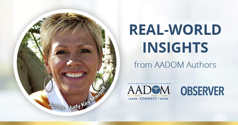 Real-World Insights from AADOM Authors - Judy Kay Mausolf