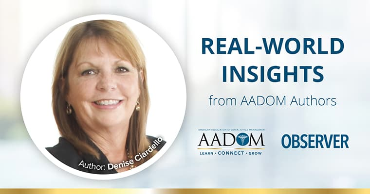 Real-World Insights by AADOM author - Denise Ciardello