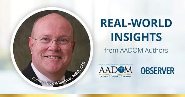 """Real-world Insights from AADOM Authors: Raymond F. """"Rick"""" Willeford"""
