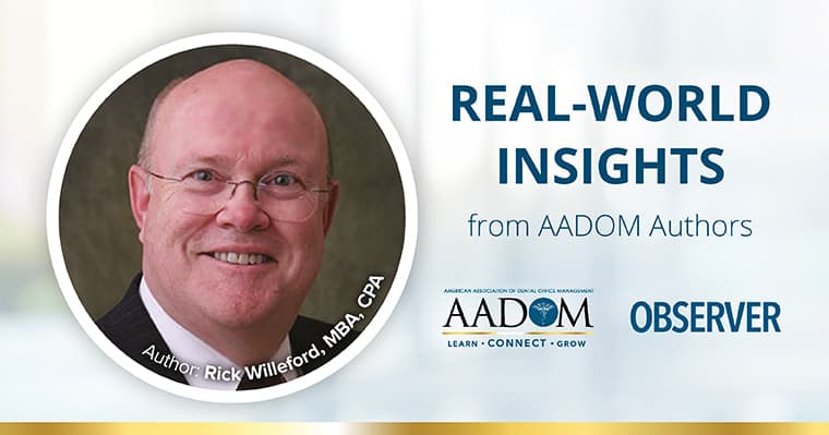 AADOM Observer Blog featuring Rick Willeford