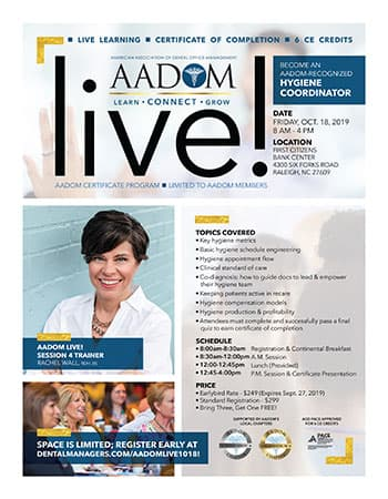 AADOM Live Flyer - Click the image to download the information