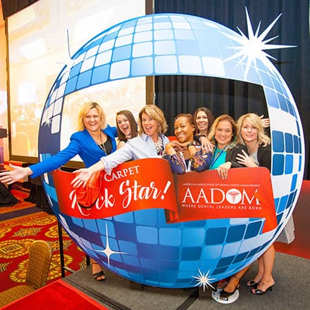 Practice administrators at the AADOM Conference