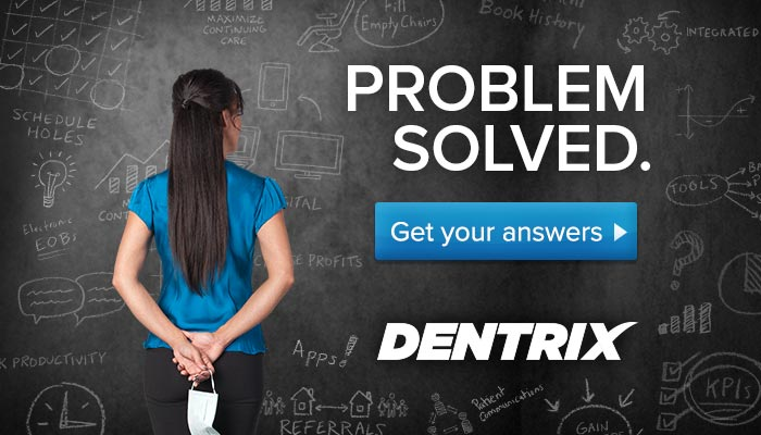 Problem solved. Get your answers from Dentrix.
