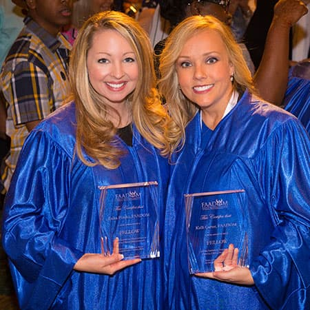 Two graduates of FAADOM