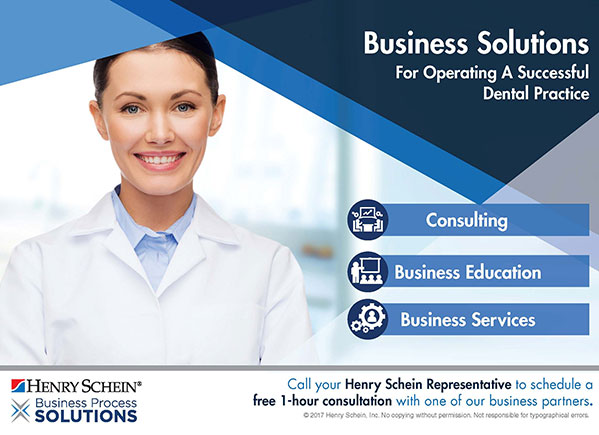 Business Solutions for operating a successful dental practice by Henry Schein Dental