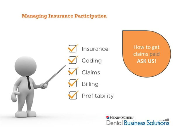 Managing Insurance Participation - How to get claims paid!