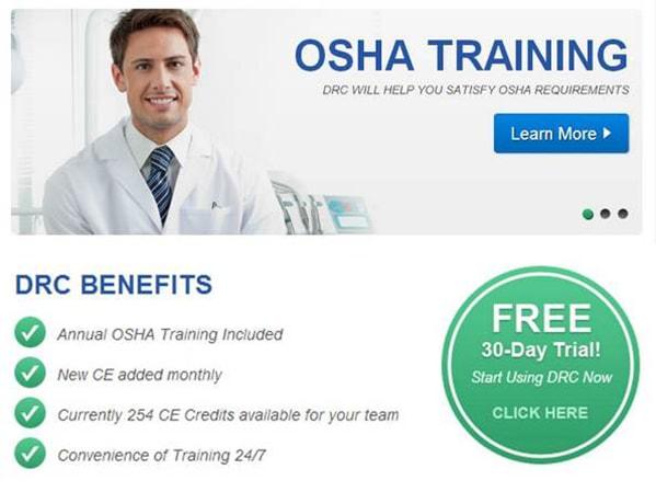 OSHA Training - DRC will help you satisfy OSHA requirements