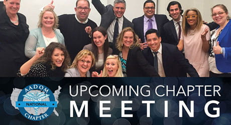 Upcoming chapter meeting