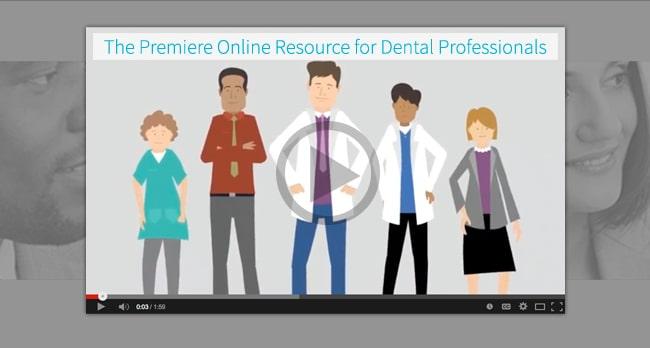 The premier online resource for dental professionals