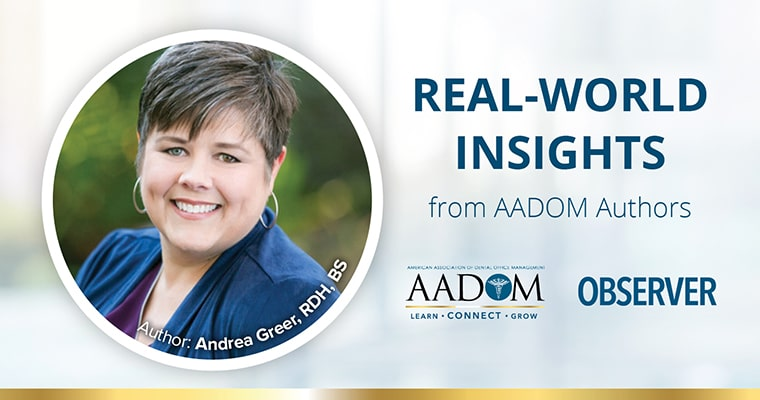 Real-world Insights from AADOM Authors: Andrea Greer