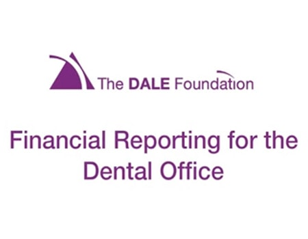 Video preview of DALE Foundation module: Financial Reporting for the Dental Office