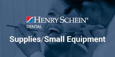 Henry Schein Dental Supplies/Small Equipment