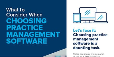 A preview of Patterson Dental's PDF: What to Consider When Choosing Practice Management Software