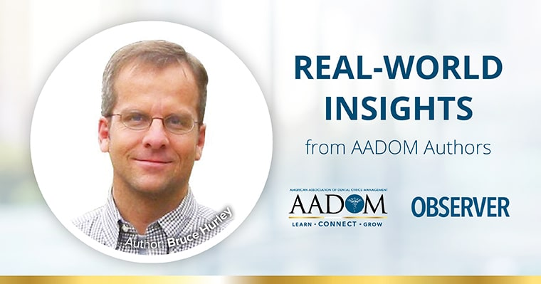 Real-World Insights from AADOM Authors - Bruce Hurley
