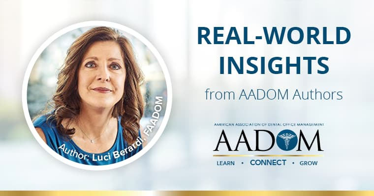 Real-world insights from AADOM Authors, Luci Berardi, FAADOM