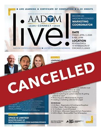 AADOM Live Flyer