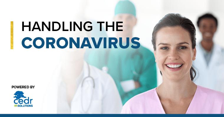 Handling the Coronavirus