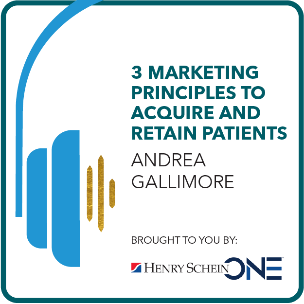 3 Marketing Principals to Acquire and Retain Patients Brought to you by: HS One