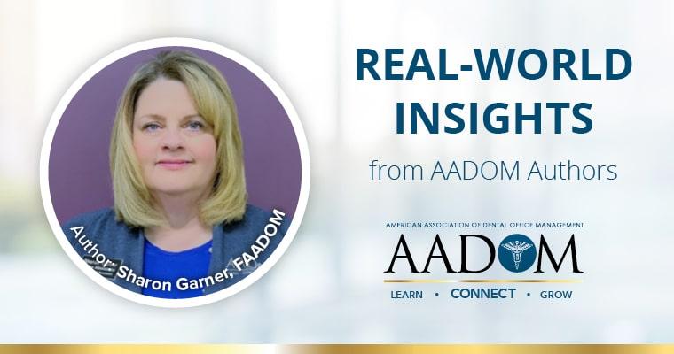 Real-world insights from AADOM Author Sharon Garner