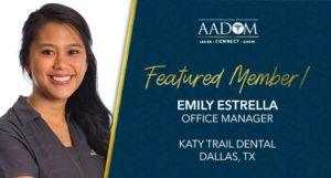 Emily Estrella Featured Member