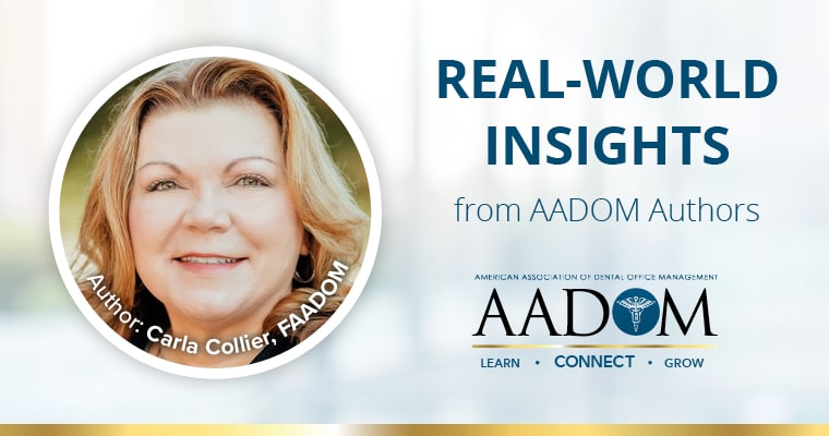 Carla Collier, AADOM author for Real-World Insights blog on daily interaction after pandemic.