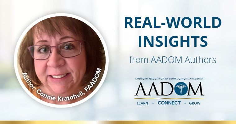 Real-world insights from AADOM authors - Connie Kratohvil, author of blog on teamwork.