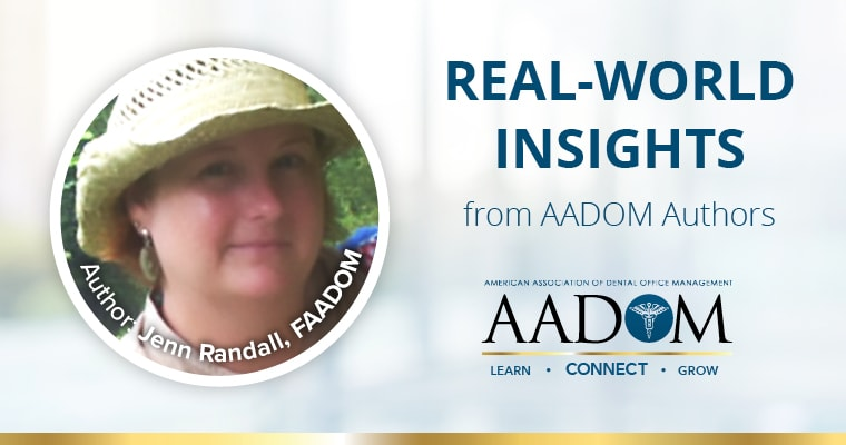 Real-World Insights from AADOM Authors. Author Jen Randall, FAADOM, on why we smile.