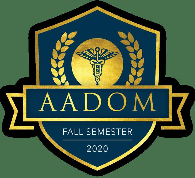 Fall Semester AADOM logo