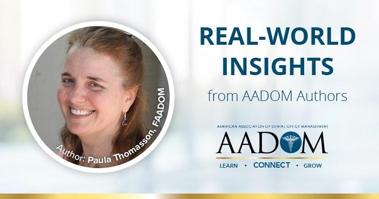 Real-world insights from AADOM authors. Author: Paula Thomasson, FAADOM