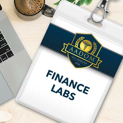 AADOM Fall Semester Finance Labs