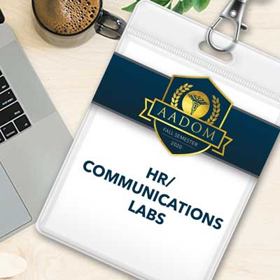 AADOM Fall Semester HR Communication Labs