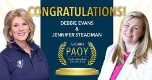 Congratulations Debbie Evans & Jennifer Steadman